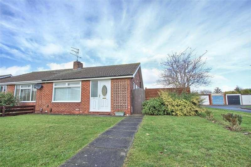 2 Bedrooms Semi Detached Bungalow for sale in Kenilworth Way, Redcar