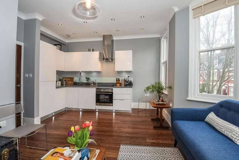2 Bedrooms Flat for sale in Birnam Road, Finsbury Park, N4
