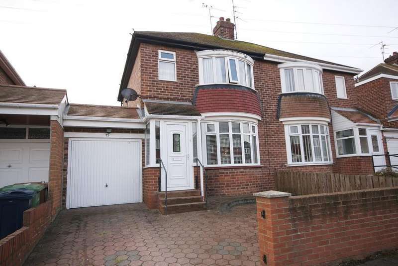 3 Bedrooms Semi Detached House for sale in Ambleside Terrace, Fulwell