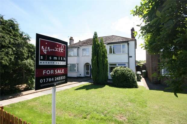 2 Bedrooms Maisonette Flat for sale in London Road, Ashford, Surrey