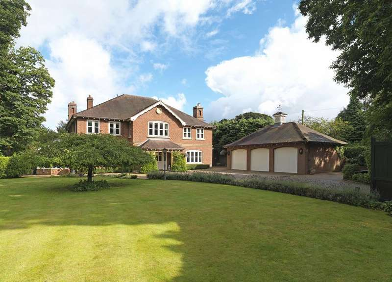 5 Bedrooms Detached House for sale in Keepers Road, Little Aston Park, Sutton Coldfield, B74 3AX