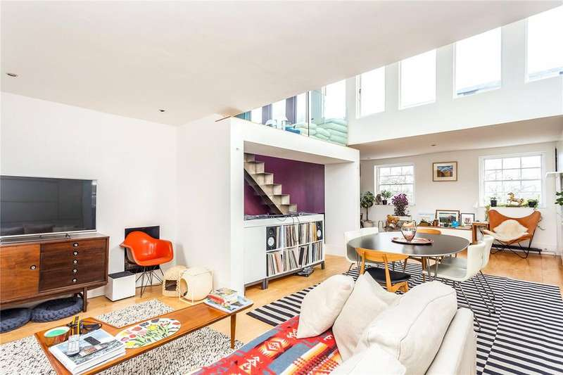 2 Bedrooms Penthouse Flat for sale in Highbury Park, London, N5