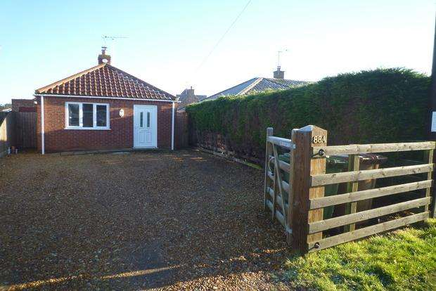 2 Bedrooms Bungalow for sale in Gorefield Road, Leverington, Wisbech, PE13
