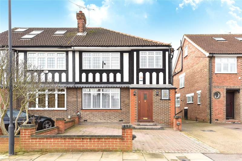 3 Bedrooms Semi Detached House for sale in George V Avenue, Pinner, Middlesex, HA5