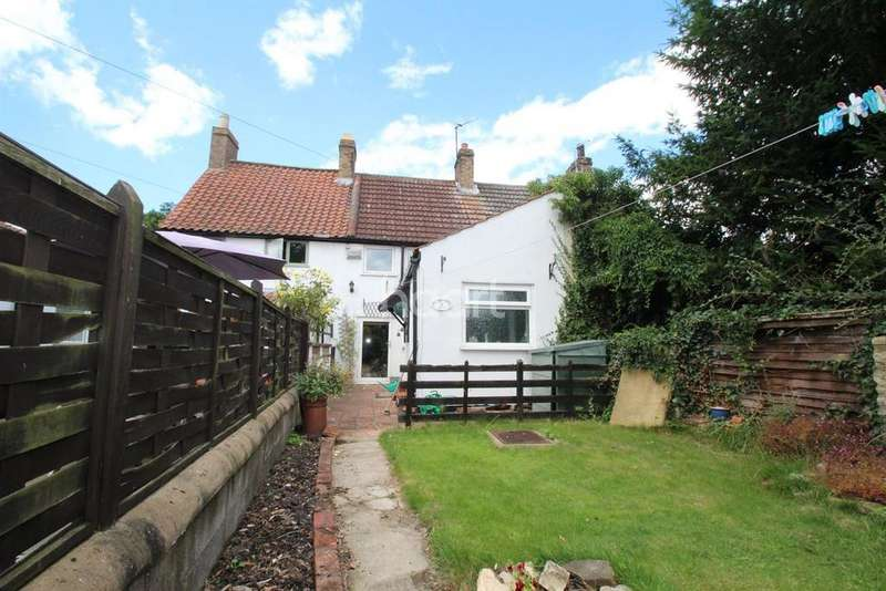 2 Bedrooms Terraced House for sale in Stores Cottages, School Lane, Washingborough, LN4