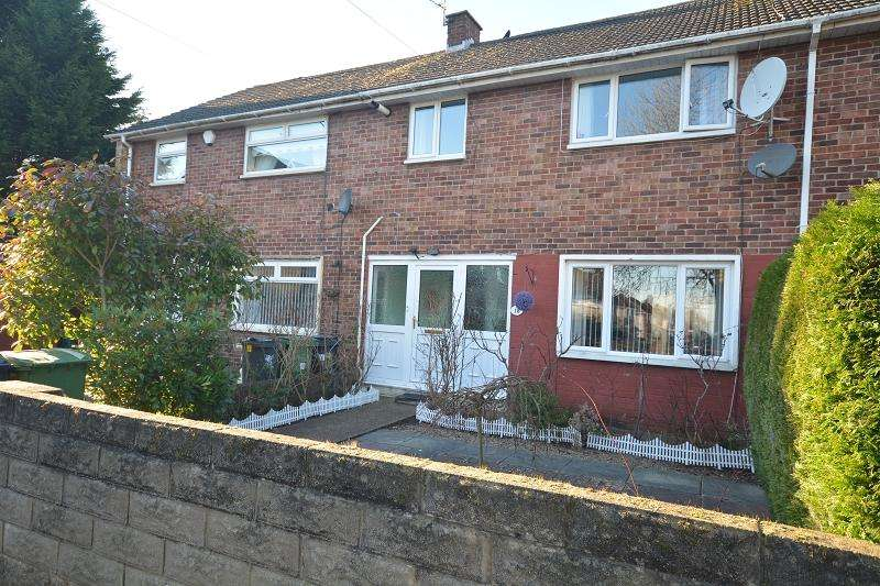 3 Bedrooms Terraced House for sale in Elgar Crescent, Llanrumney, Cardiff. CF3