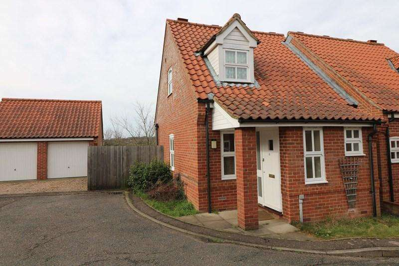 2 Bedrooms Semi Detached House for sale in Barn Meadow, Trowse, Norwich