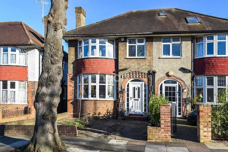 3 Bedrooms Semi Detached House for sale in Cleveland Road, Ealing
