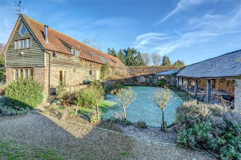 6 Bedrooms Barn Conversion Character Property for sale in Steventon, Ludlow, Shropshire