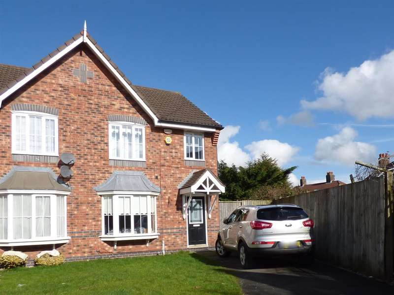 3 Bedrooms Semi Detached House for sale in Turriff Road, Dovecot, Liverpool