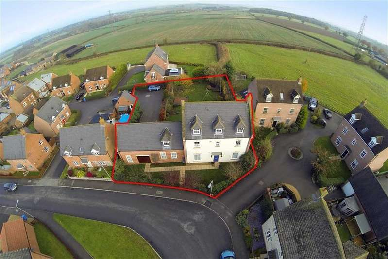 6 Bedrooms Detached House for sale in Hawthorn Avenue, Mawsley