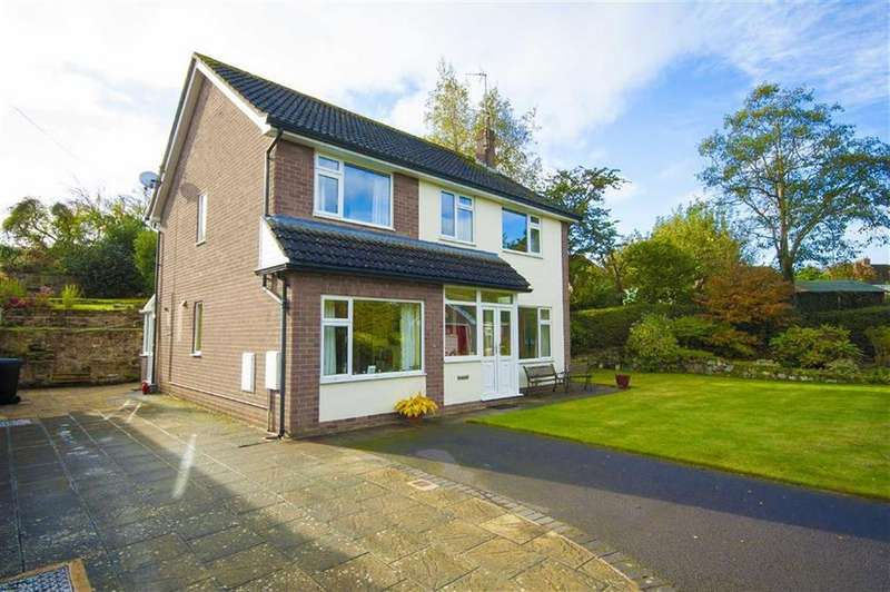 4 Bedrooms Detached House for sale in Roman Road, Shrewsbury, Shropshire