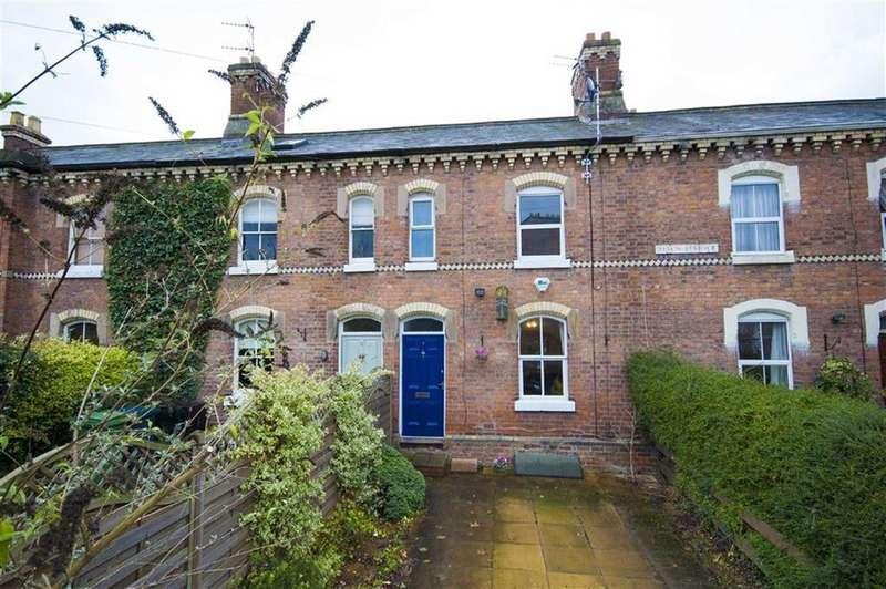 2 Bedrooms Terraced House for sale in Alton Terrace, Belle Vue, Shrewsbury, Shropshire