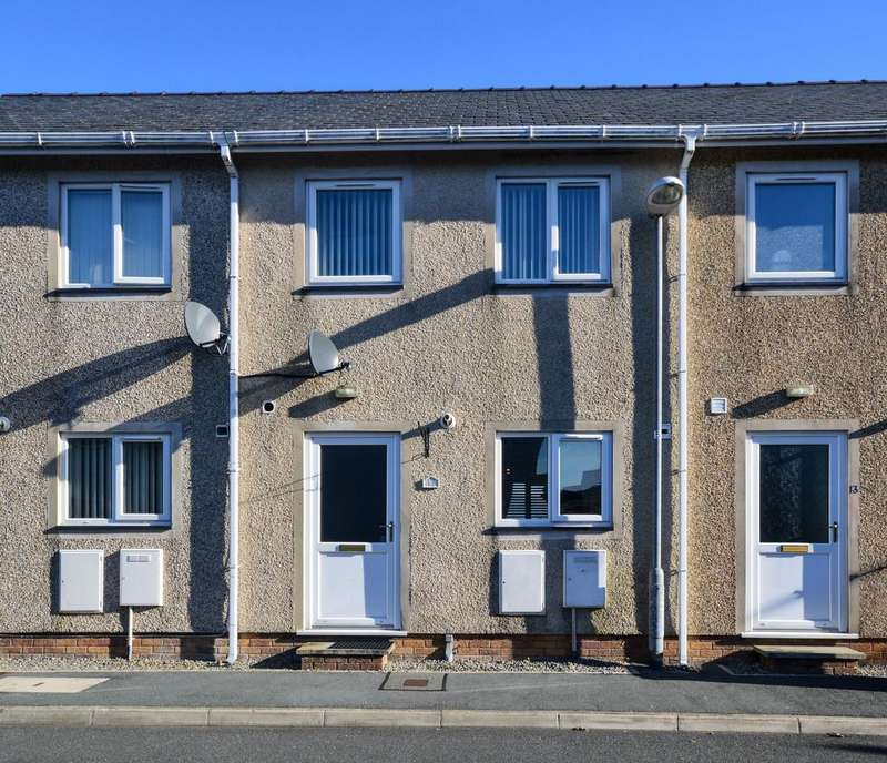 2 Bedrooms Terraced House for sale in Llys Y Meddyg, Bodedern, North Wales