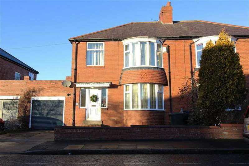 3 Bedrooms Semi Detached House for sale in Cotswold Gardens, Newcastle Upon Tyne, NE7