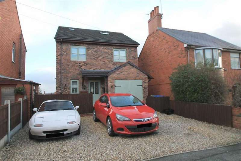 4 Bedrooms Detached House for sale in School Lane, Ponciau, Wrexham