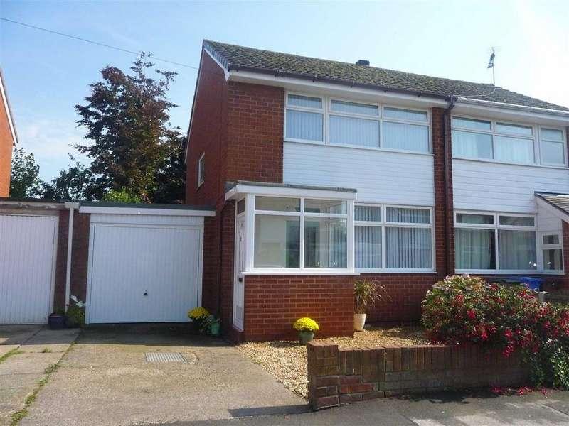 3 Bedrooms Semi Detached House for sale in Yarrow Close, Croston Leyland, PR26