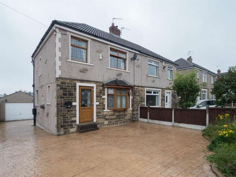 3 Bedrooms Semi Detached House for sale in Acre Drive, Bradford, BD2 2LU