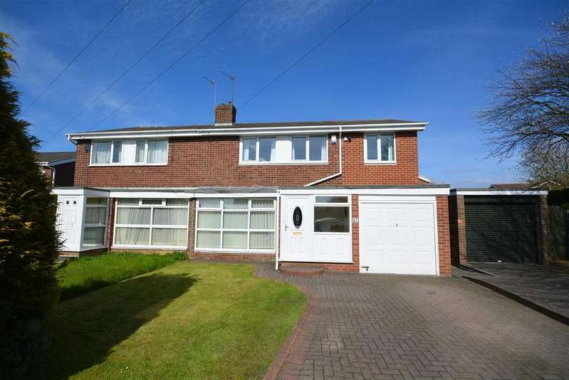 4 Bedrooms Semi Detached House for sale in Longmeadows, East Herrington, Sunderland