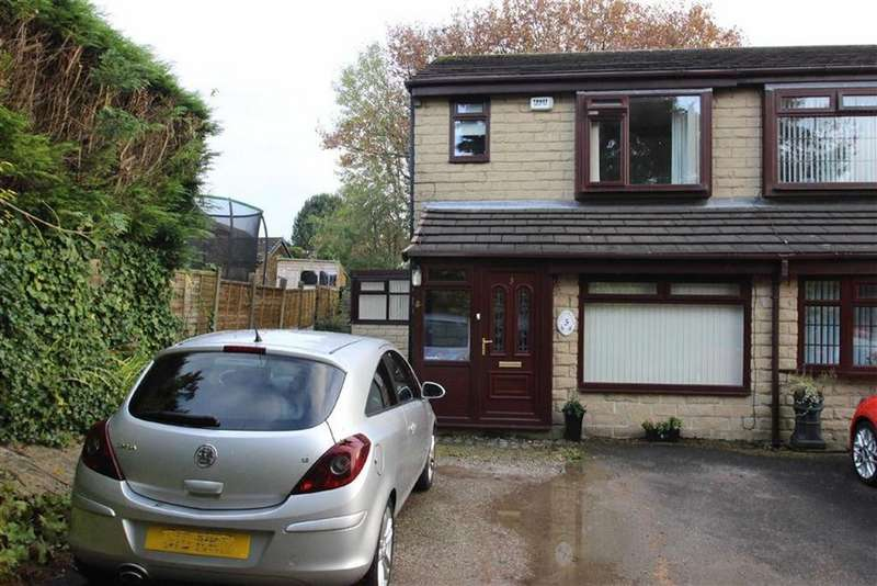 2 Bedrooms Semi Detached House for sale in 3, Ascot Close, Bamford, Rochdale, OL11