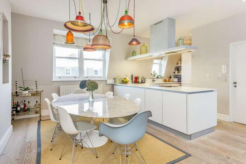 4 Bedrooms Maisonette Flat for sale in Elsham Road, Kensington, London, W14