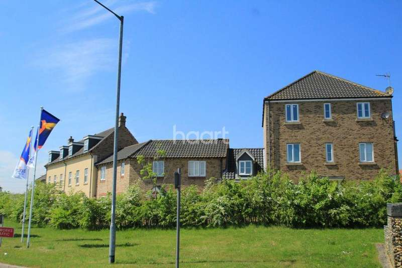 2 Bedrooms Flat for sale in Round House Way, Cringleford