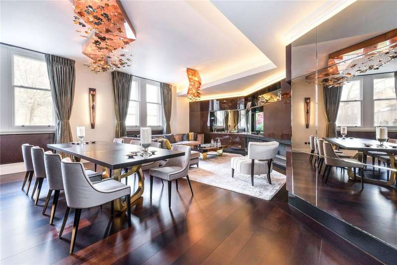 2 Bedrooms Flat for sale in Empire House, Thurloe Place, London, SW7