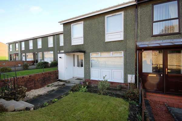 3 Bedrooms Terraced House for sale in 12 Macnaughton Drive, Kilmarnock, KA3 7LR