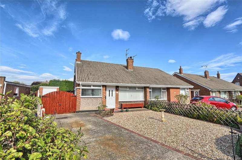3 Bedrooms Semi Detached Bungalow for sale in Tunstall Road, Hartburn