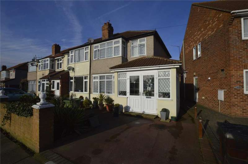 3 Bedrooms End Of Terrace House for sale in Sycamore Avenue, Sidcup, Kent, DA15