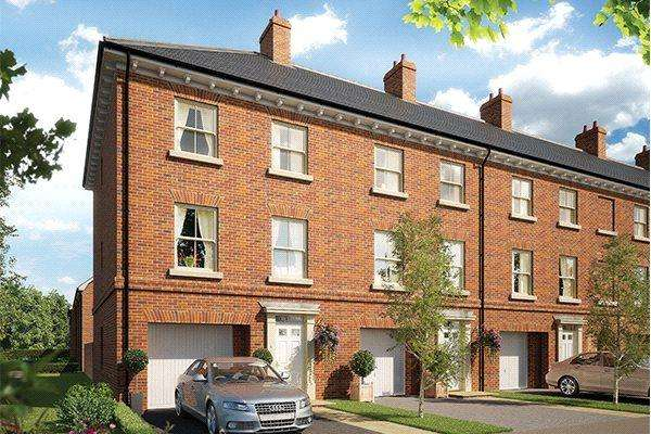 3 Bedrooms Terraced House for sale in Plot 32 Grace Park, Lakenham, Norwich, NR1