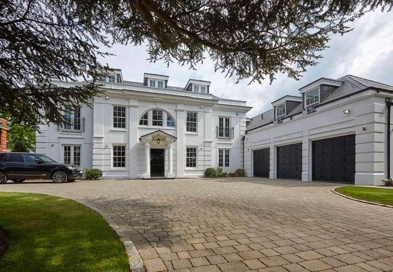 6 Bedrooms Detached House for sale in Claremont Park Road, Esher, Surrey, KT10