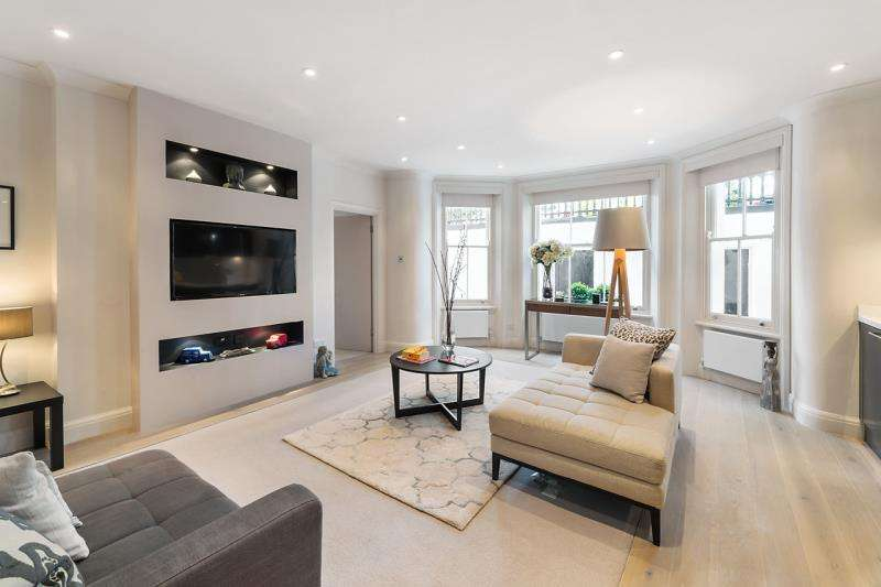 2 Bedrooms Flat for sale in Lexham Gardens, South Kensington, London, W8
