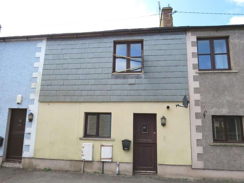 2 Bedrooms Terraced House for sale in Keekle, Mews, Whitehaven Road, Cleator Moor, Cumbria