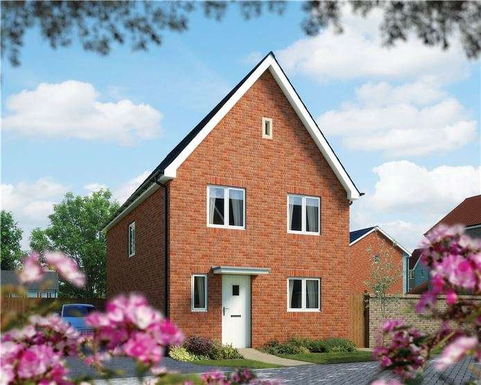 4 Bedrooms Detached House for sale in The Salisbury, Plot 13 Morris Gardens, Fordham Road, Soham