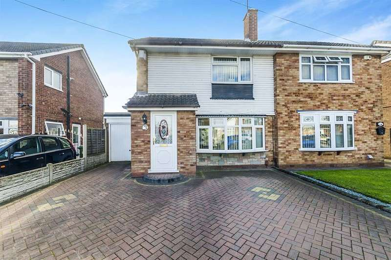 3 Bedrooms Semi Detached House for sale in Holberg Grove, Wolverhampton, WV11