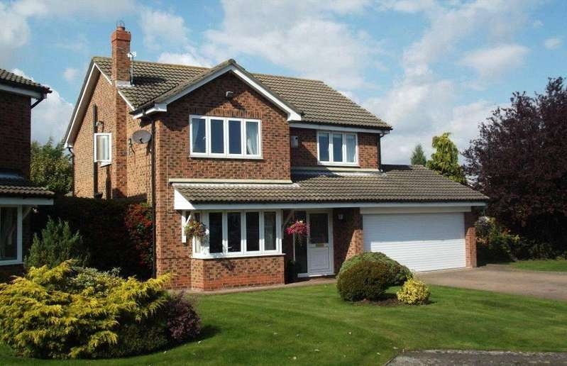 4 Bedrooms Detached House for sale in Kelsterne Close, Yarm, Stockton On Tees