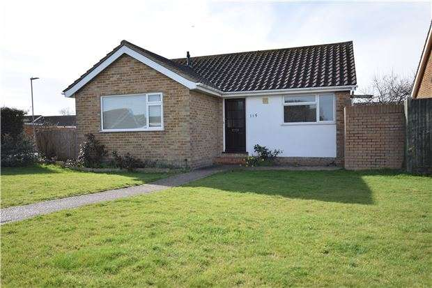 2 Bedrooms Detached Bungalow for sale in Priory Road, EASTBOURNE, BN23 7QD