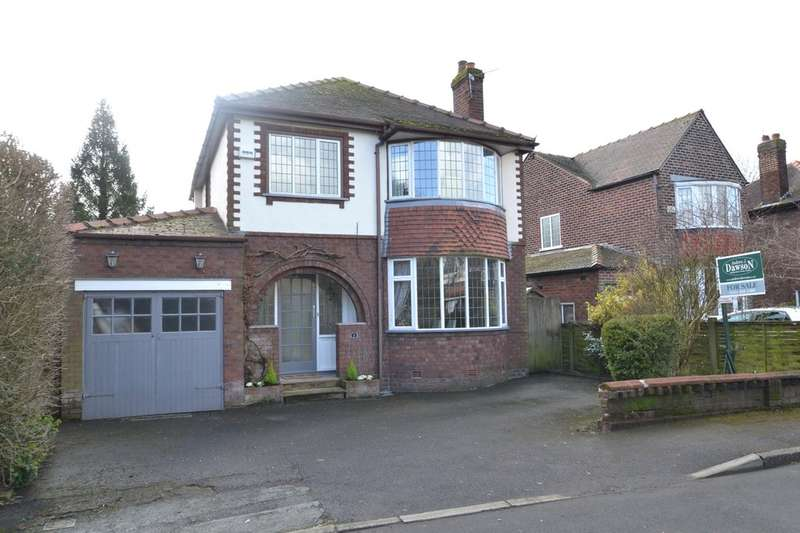 3 Bedrooms Detached House for sale in Brogden Drive, Gatley