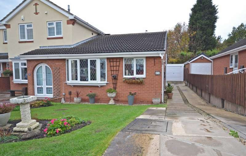 2 Bedrooms Semi Detached Bungalow for sale in Patterson Court, Wrenthorpe, Wakefield