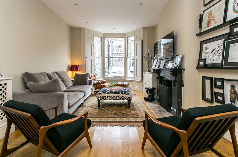 5 Bedrooms Terraced House for sale in Chelsham Road, London, SW4