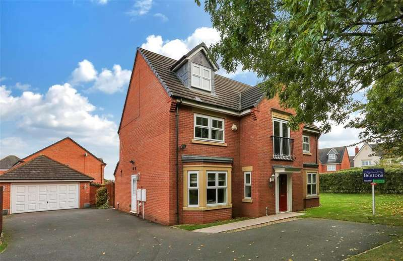 5 Bedrooms Detached House for sale in Eyebrook Close, Hamilton, Leicester