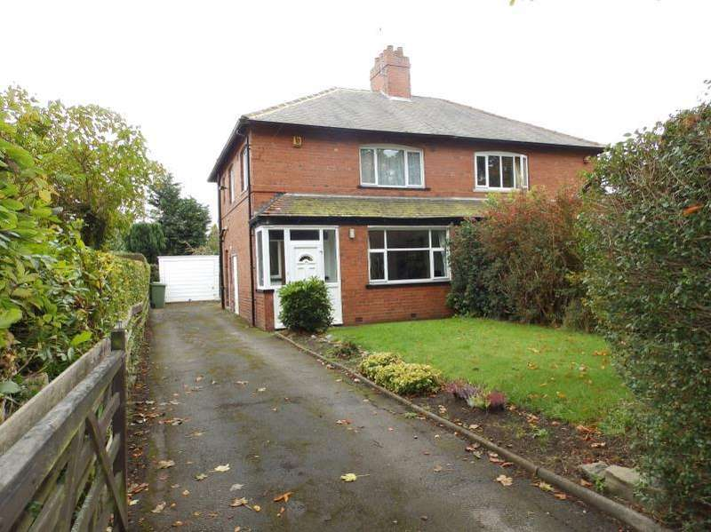 3 Bedrooms Semi Detached House for sale in THE DRIVE, ROUNDHAY, LEEDS, LS8 1LJ