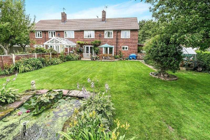 4 Bedrooms Semi Detached House for sale in Mill Close, Upton, Chester, Cheshire, CH2