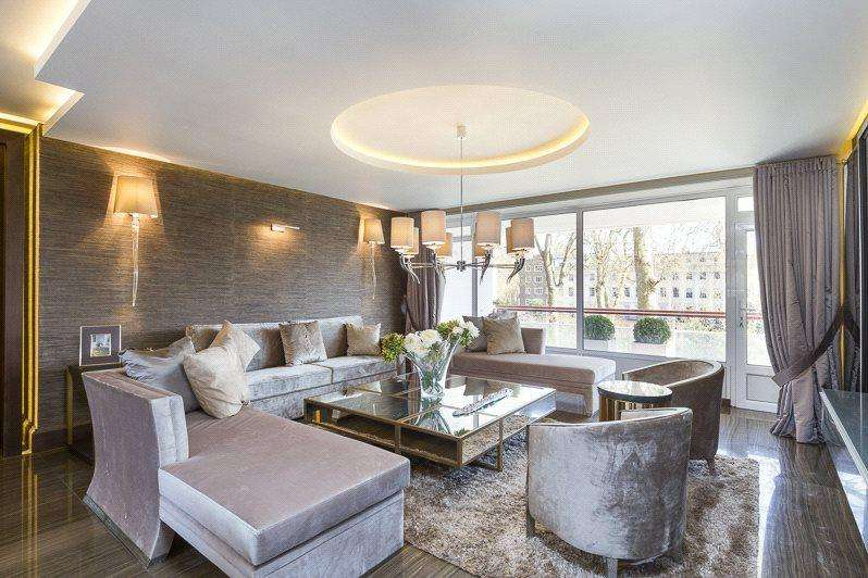 3 Bedrooms Apartment Flat for sale in Chelwood House, Gloucester Square, London, W2