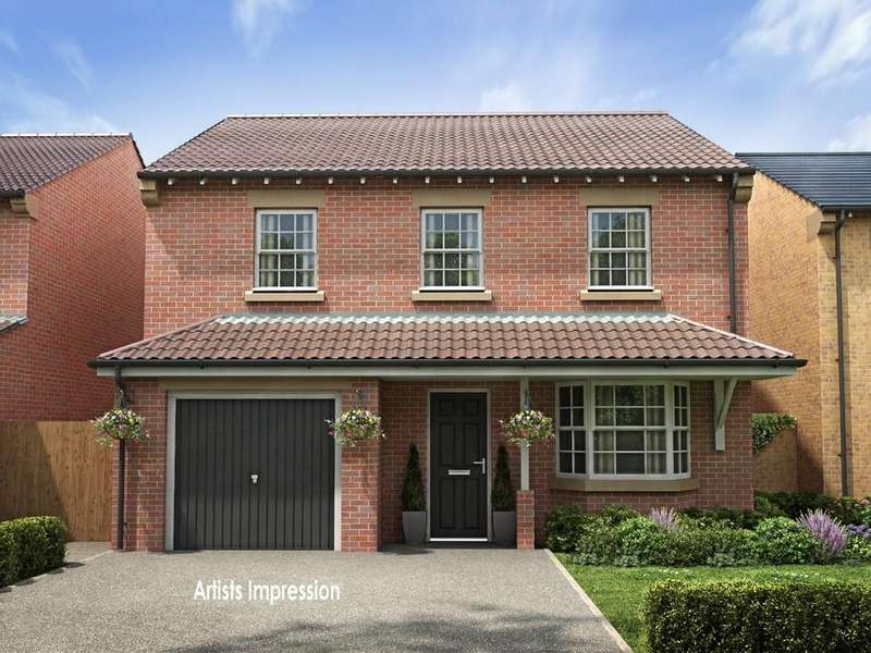 4 Bedrooms Detached House for sale in Beckett Close, Horbury