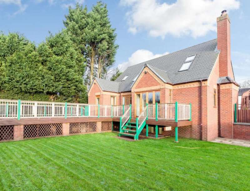 5 Bedrooms Detached House for sale in The Plot Wellington Road, Horsehay, Telford, TF4