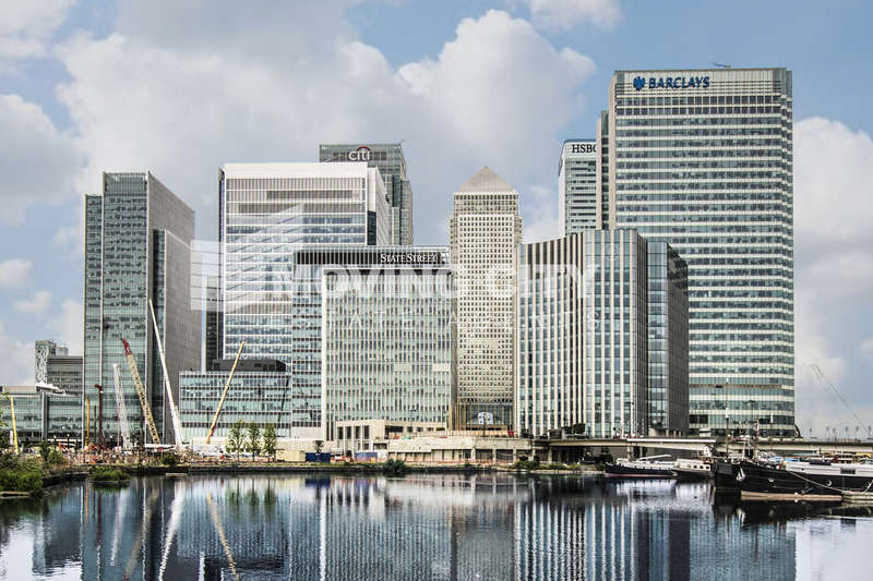 2 Bedrooms Flat for sale in Harbour Central, Maine Tower, Canary Wharf