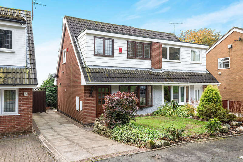 3 Bedrooms Semi Detached House for sale in Orwell Drive, Parkhall , Stoke-On-Trent, ST3