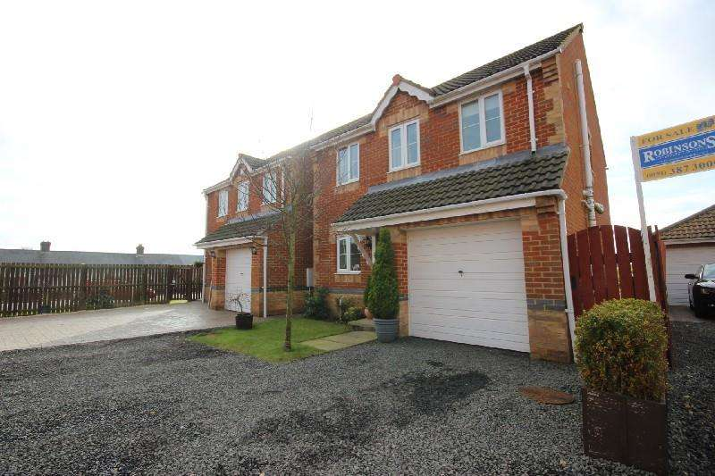 3 Bedrooms Detached House for sale in The Croft Greencroft, Stanley
